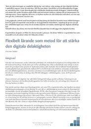 Flexibelt lärande som metod för att stärka den digitala delaktigheten