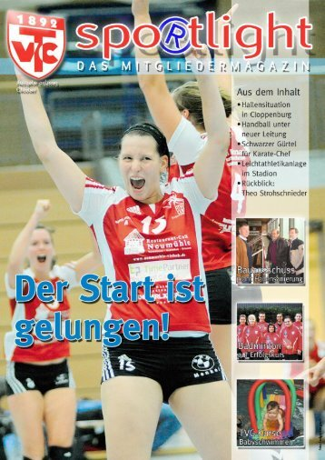 Spo®tlight Ausgabe 1 - TV Cloppenburg