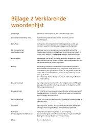 Bijlage 2 - Verklarende woordenlijst - Landinrichting Saasveld ...