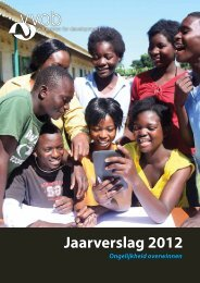 Jaarverslag 2012 - VVOB
