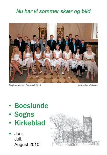 • Boeslunde • Sogns • Kirkeblad • - Boeslunde Kirke