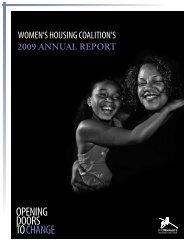 OPENING DOORS TO CHANGE - The Women's Housing Coalition