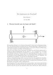 Hans Aschauer, Wie funktioniert der Powerball? - GSI - Theory