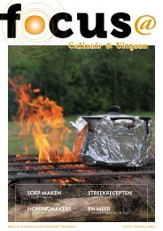 Culinair & Uitgaan - FoCUS
