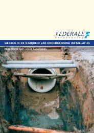 Werken in de nabijheid van ondergrondse installaties - Federale ...