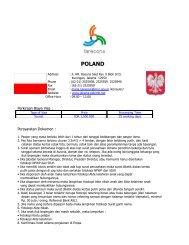 Persyaratan Permohonan Visa Polandia - FareConX