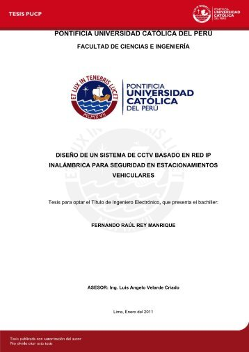 Repositorio Digital de Tesis PUCP - Pontificia Universidad Católica ...