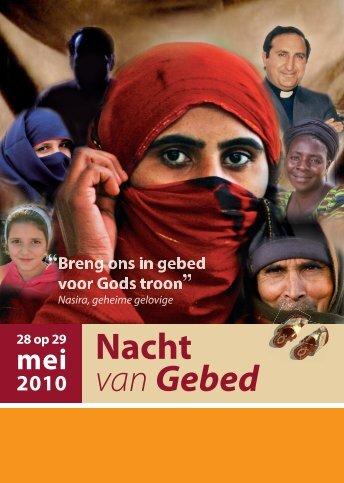 Flyer Nacht van Gebed - Morgenstond Delft