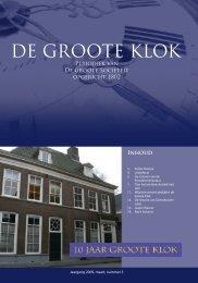de Groote Klok - maart2009 - de Groote Sociëteit Zwolle