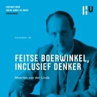 Feitse Boerwinkel, inclusieF denker - Hogeschool Utrecht