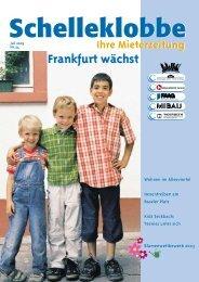 Schelleklobbe Ausgabe Juli 2003 - ABG Frankfurt Holding