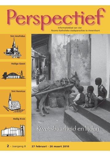 Perspectief 2010, nr. 2 maart - Kerkplein Amersfoort