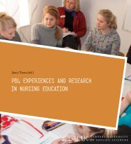 Pbl exPeriences and research in nursing education - Tampereen ...