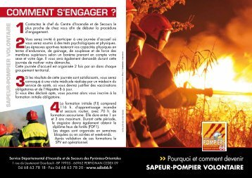 COMMENT S'ENGAGER ? - SDIS66
