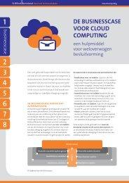 De businesscase voor cloud computing – een ... - Kennisnet