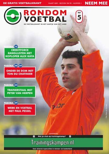 seizoen 2008/2009 nummer 5 - Rondom Voetbal