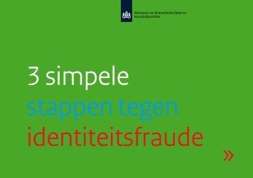 3 simpele stappen tegen identiteitsfraude - Overheid.nl