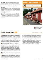 Södra Vätterleden, etapp 2, del 4 - Jönköpings kommun