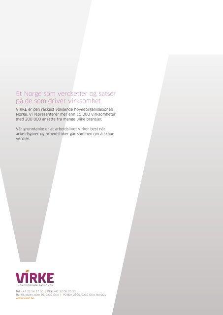 Landsoverenskomst for studentsamskipnader Virke NTL Parat Utd.f ...