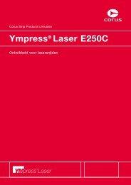 Ympress® Laser E250C - MCB Nederland B.V.