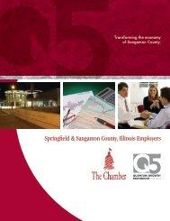 Springfield & Sangamon County, Illinois Employers - Springfield in ...