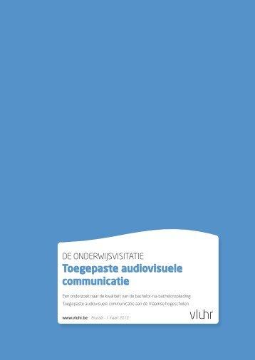 Toegepaste audiovisuele communicatie - VLUHR