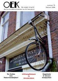 Uithangfietsen in Amsterdam - Fietsersbond Amsterdam