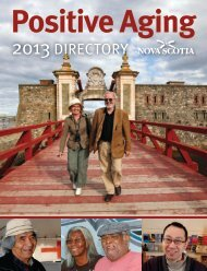 Positive Aging Directory - Government of Nova Scotia