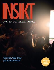 01 INSIKT 4.10 4 - /10 - Om hiv, sex & sånt - World Aids Day - Lafa