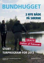Stort turprogram for 2013 2 nye både på Søerne - Bundhugget.dk