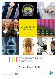 Annual Report 2008 - Neuroscience Campus Amsterdam