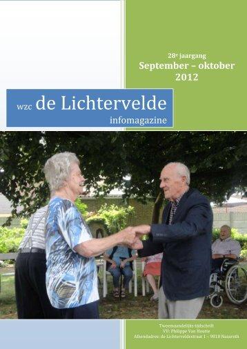 Editie sept - okt 2012 - WZC de Lichtervelde