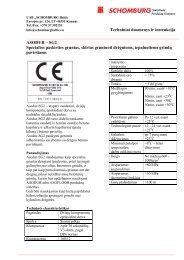 asodur - sg2 - SCHOMBURG Baltic