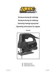Instrukcja obsługi (2.5 MB - pdf) - Jula