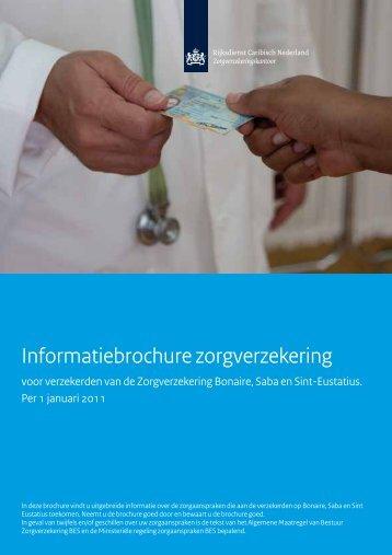 Informatiebrochure zorgverzekering - Rijksdienst Caribisch Nederland
