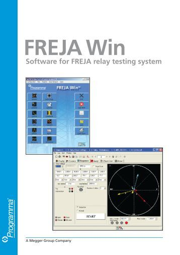 Software for FREJA relay testing system