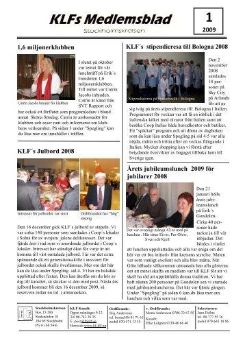KLF´s julbord 2008 - MedMera
