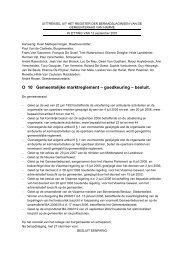 Marktreglement 12092007 - Gemeente Hamme