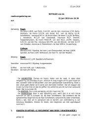 Verslag raadsvergadering van 15 juni 2010 - Bestuur - Gemeente ...
