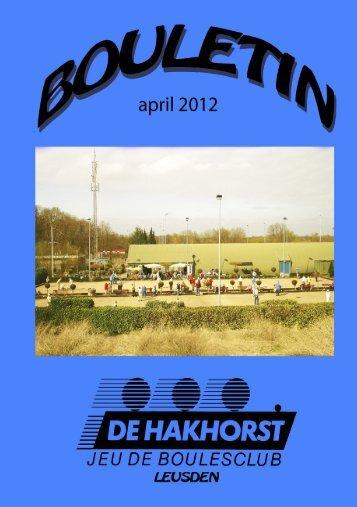 donderdag 26 april 2012 - Hakhorst