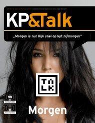 """""""Morgen is nu! Kijk snel op kpt.nl/morgen"""" - KP&T"""