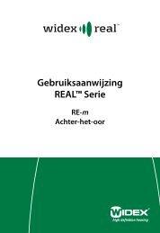 Gebruiksaanwijzing REAL™ Serie - Widex