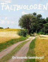 Fältbiologen 1/2013.pdf - Fältbiologerna