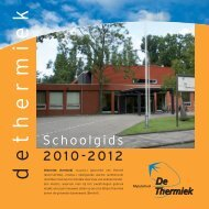 Schoolgids 04/05 - Mytylschool De Thermiek