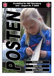 Posten - Nr. 2, År 2008 - FDF Tjæreborg