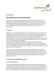 verslag - Sectorinstituut Openbare Bibliotheken