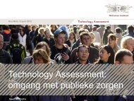 Technology Assessment: omgang met publieke zorgen - kivi niria