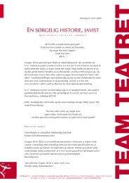 BAARD OWE INDDRIVER GLD P TEAM - Team Teatret