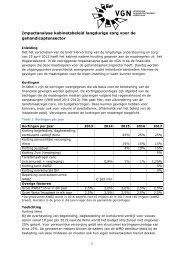 Financiële impactanalyse kabinetsbeleid - De Klup