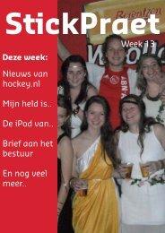 Nieuws van hockey.nl Mijn held is.. De iPod van.. Brief aan ... - USHC
